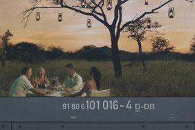 """BR 101 016-4 """"Packendes Südafrika!"""" - Buschdinner"""