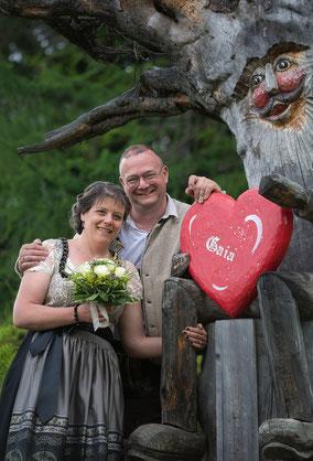 @Bild - @Heiraten am Berg - # Hochzeit auf der Gamskogelhütte - höchstgelegene Standesamt Salzburgs und Kärntens - www.gamskogel.at/heiraten-am-berg