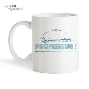 Mug à personnaliser Rock my Citron, Professeur, Cadeaux Fêtes, Anniversaires, Mariages, Naissances, EVJF, EVG