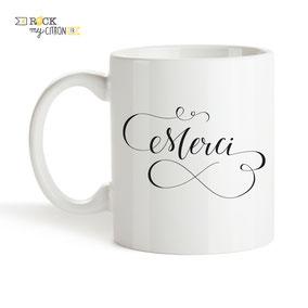 Mug à personnaliser Rock my Citron, Merci, Cadeaux Fêtes, Anniversaires, Mariages, Naissances, EVJF, EVG