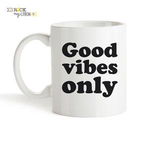 Mug à personnaliser Rock my Citron, Good Vibes, Cadeaux Fêtes, Anniversaires, Mariages, Naissances, EVJF, EVG