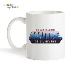 Mug à personnaliser Rock my Citron, Maître de l'Univers, Cadeaux Fêtes, Anniversaires, Mariages, Naissances, EVJF, EVG