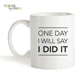 Mug à personnaliser Rock my Citron, One Day, Cadeaux Fêtes, Anniversaires, Mariages, Naissances, EVJF, EVG