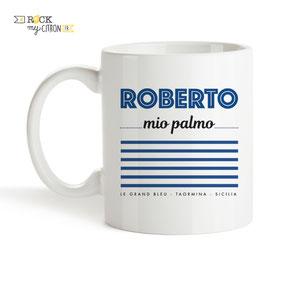 Mug Rock my Citron, Roberto, Le Grand Bleu, Cadeaux Fêtes, Anniversaires