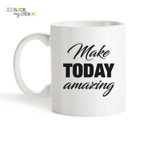 Mug à personnaliser Rock my Citron, Today Amazing, Cadeaux Fêtes, Anniversaires, Mariages, Naissances, EVJF, EVG