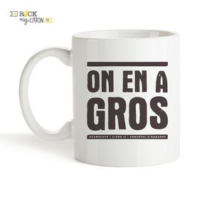 Mug Rock my Citron, On En A Gros, Kaamelott, Perceval, Cadeaux Fêtes, Anniversaires