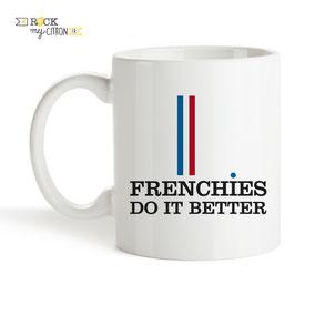 Mug à personnaliser Rock my Citron, Frenchies Do It Better, Cadeaux Fêtes, Anniversaires, Mariages, Naissances, EVJF, EVG