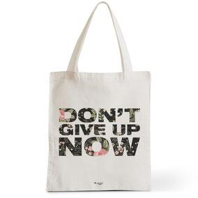 Tote Bag Rock my Citron,  Don't Give Up, Cadeaux Fêtes, Anniversaires, Naissances