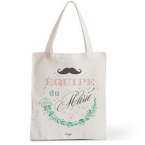 Tote Bag Rock my Citron,  Équipe du Marié, Cadeaux Fêtes, Anniversaires, Naissances