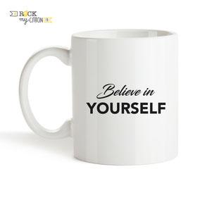 Mug à personnaliser Rock my Citron, Believe, Cadeaux Fêtes, Anniversaires, Mariages, Naissances, EVJF, EVG