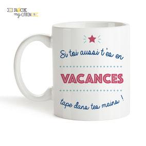 Mug à personnaliser Rock my Citron, Vacances, Cadeaux Fêtes, Anniversaires, Mariages, Naissances, EVJF, EVG