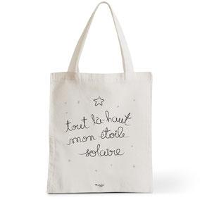 Tote Bag Rock my Citron,  Étoile Solaire, Cadeaux Fêtes, Anniversaires, Naissances