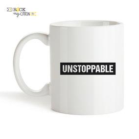 Mug à personnaliser Rock my Citron, Unstoppable, Cadeaux Fêtes, Anniversaires, Mariages, Naissances, EVJF, EVG