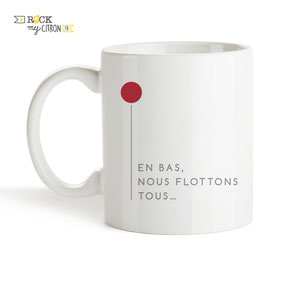Mug Rock my Citron, Ça, Stephen King, Cadeaux Fêtes, Anniversaires