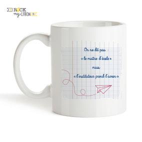 Mug à personnaliser Rock my Citron, Maître Décolle, Cadeaux Fêtes, Anniversaires, Mariages, Naissances, EVJF, EVG