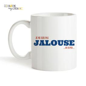 Mug à personnaliser Rock my Citron, Jalouse, Cadeaux Fêtes, Anniversaires, Mariages, Naissances, EVJF, EVG