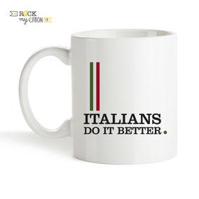 Mug à personnaliser Rock my Citron, Italians do It Better, Cadeaux Fêtes, Anniversaires, Mariages, Naissances, EVJF, EVG