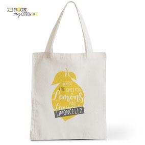 Tote Bag Rock my Citron, Yummy, Cadeaux Fêtes, Anniversaires