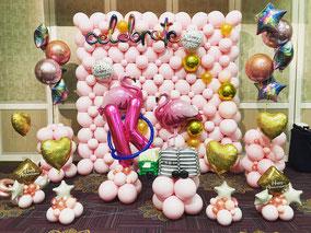 風船 お誕生日 結婚式 卒園式入園式   周年パーティー 店舗装飾