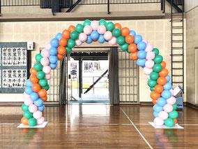 風船 アーチ お誕生日  入園式 卒園式 イベント装飾