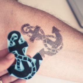 Utiliza tus sellos como tatuajes temporales by Sami Garra