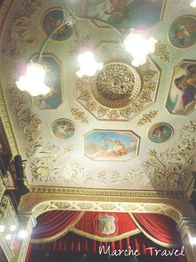 Soffitto Teatro La Rondinella Montefano