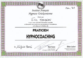 Certification HYPNOCOACHING