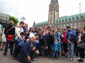 Migranten Gruppe