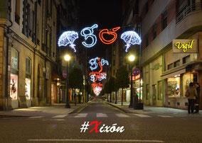 #Xixon, bonito incluso en las fiestas populares.