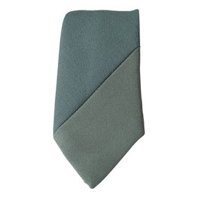 Groene stropdas Senor Guapo colour blocking smal modern