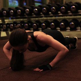 Fitnessübung Liegestütz
