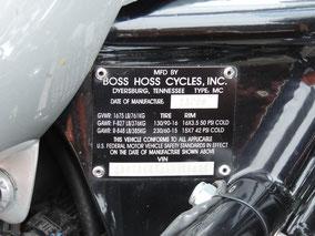 Boss Hoss bike