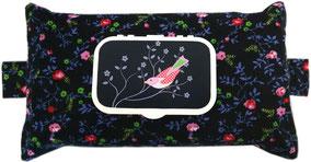 Feuchttücher Tasche Hülle Box Babytücher Geschenk Geburt werdende Mutter Feuchttücherbox aus Stoff Babyshower
