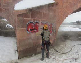 Grafitti-Entfernung 1