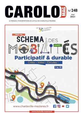 Couverture de Carolo Mag adapté par AcceSens