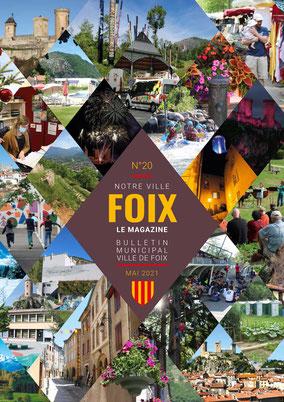 Couverture du Magazine de Foix adapté par Braille & Culture