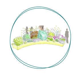 Conception de jardins d'entreprises