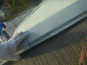 鉄板屋根材の不具合 点検補修前確認