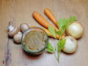 Rindergewürzpaste, Suppengrundstock, Suppengewürz ohne künstliche Geschmacksverstärker