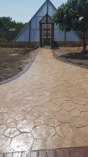 Pret pavaj beton amprentat