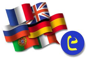 EuroLingualで学べる各国の言語