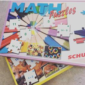 Rechen Puzzles von Schubi