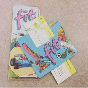 fit Karten von Schubi