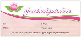 Geschenkgutschein Thaimassage Mühldorf am Inn