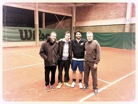 Damien; Antoine; Ali; David