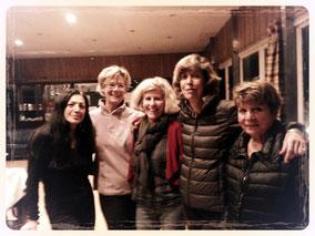 Patricia; Catherine; Bénédicte; Christiane; Joe