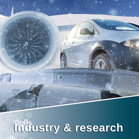 Industry & research includes: SnowFALL generators & operational systems