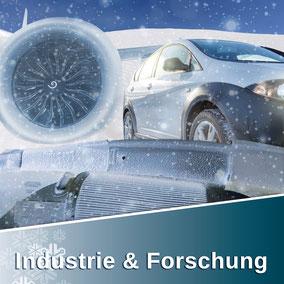 Industrie & Forschung von Snow-Industreis beinhaltet: SnowFALL Generatoren und Einsatzsysteme wie SnowBOX, SnowFALL, SnowGUN, Powderstream
