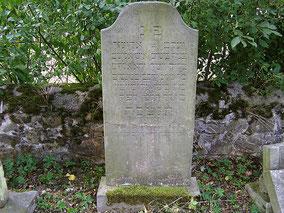 Grabstätte von Hirsch Birkenruth