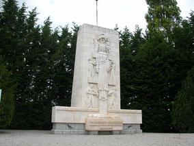 Le monument du maquis représentant Marianne libérée de ses chaines